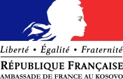 Logo-Ambasada e Frances ne Kosove